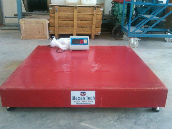 Weight Scale MKF 5000 at Plant