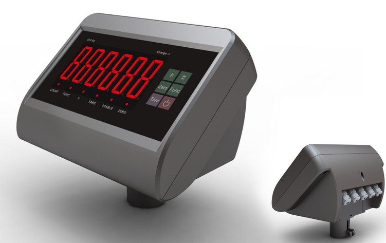Digital Weight Indicator With Serial Data RS 232 Out