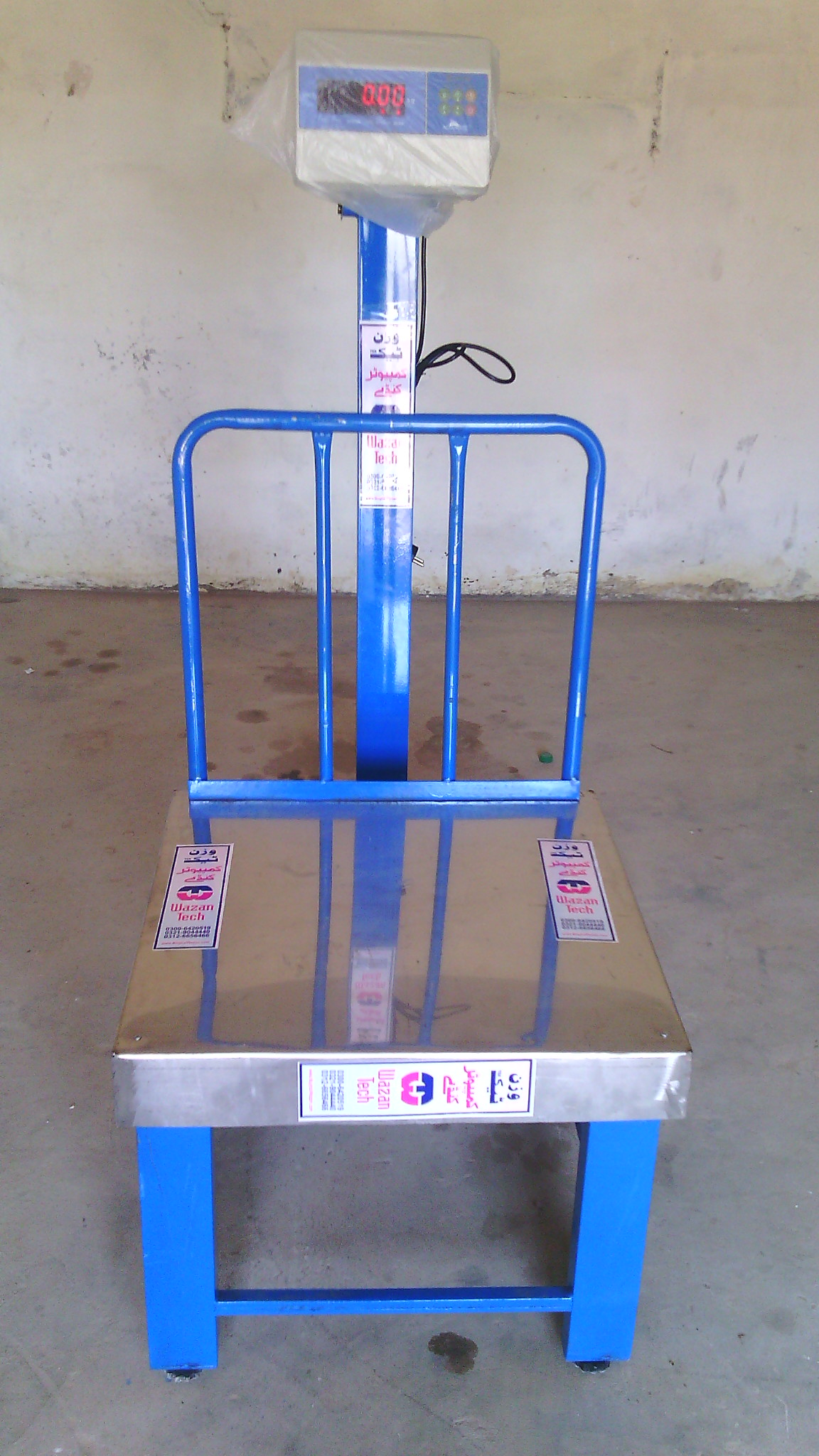 Electnic Weight Scale With 20 inches Stand 24 inces platform